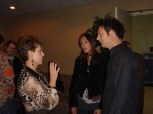 Joyce Meyer and Reuben Morgan